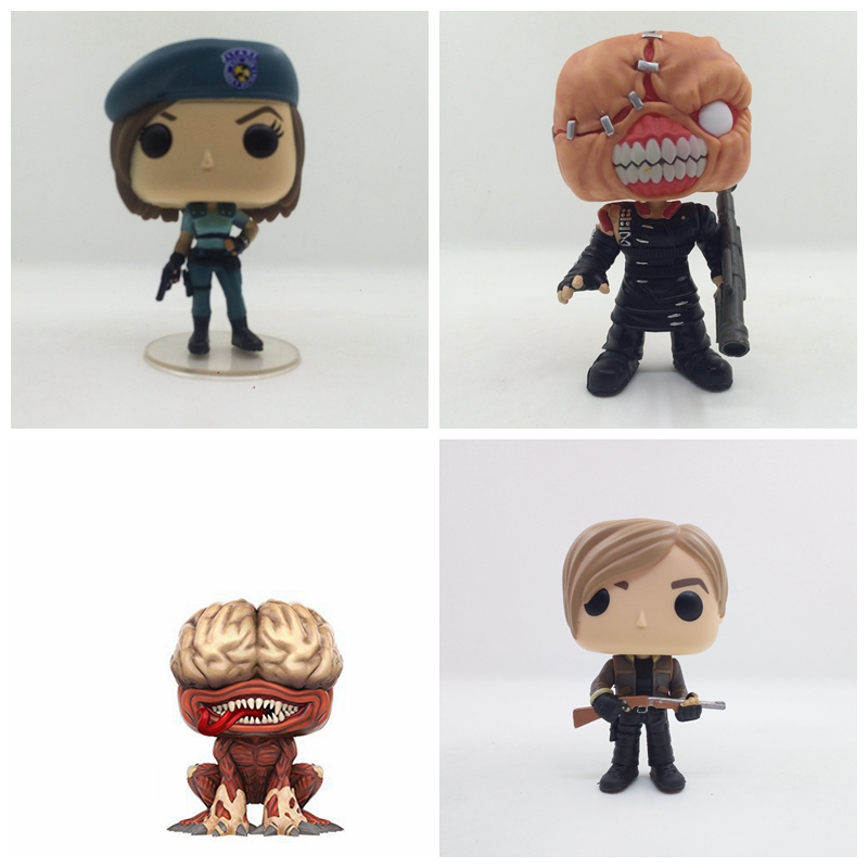 10cm Resident Evil JILL Licker NEmesis POP Action Figure Toy Doll For Kids Baby Gifts NO BOX