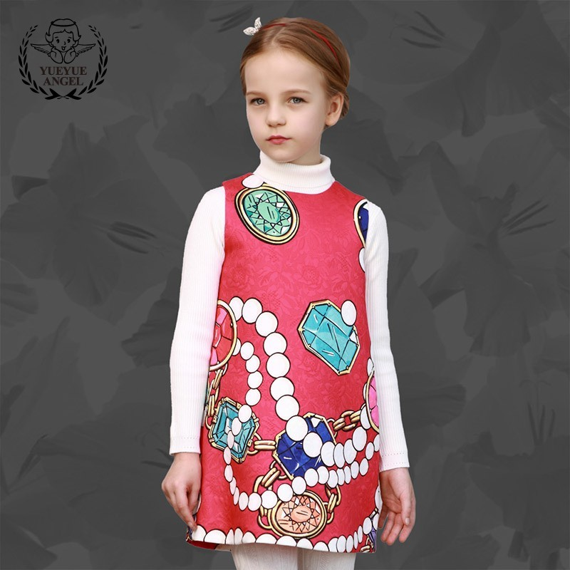 Mini Sarafan Dress For Girl Pink Princess Birthday Summer Dresses Pullover Slim Fit Vestidos Infantil Sukienki Dla Dziewczynek marfoli girl princess dress birthday