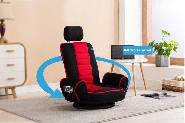 360 Rotation Swivel Rocker Gaming Chair  3