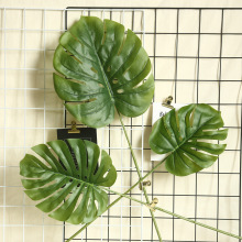 INS turtleback leaf spring rain money simulation flower home decoration wedding plant wall fake manufacturers