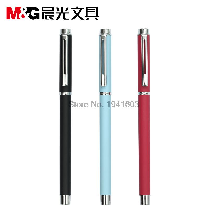 2017 1 Piece 0.5 Gel RollerBall Pen 3 Colors to choose From M&G AGPA1201 office and school the best writing pens 12pcs lot fountain pen or gel rollerball pen 2 colors to choose kaigelu 325 original packing box free shipping
