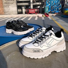 2019 Chunky sneakers font b men b font vulcanize font b shoes b font man font