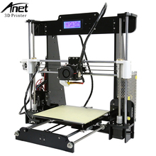 Easy Assemble A2&Anet A6&A8&A3S 3D Printer Big Size High Precision Reprap i3 DIY 3D Printing Machine+Hotbed+Filament+SD Card+LCD цена 2017