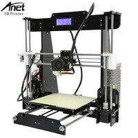 Easy Assemble A2 Anet A6 A8 A3S 3D Printer Big Size High Precision Reprap I3 DIY