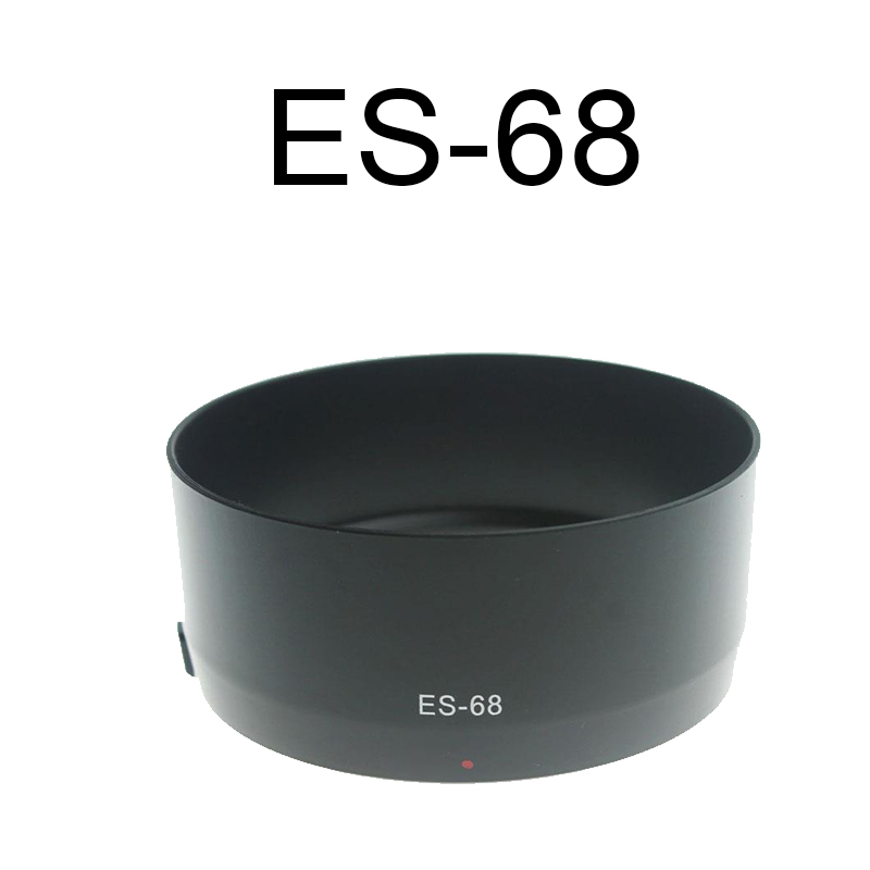 Replacement Parts <font><b>Lens</b></font> Hood Cover Bayonet Mount Protector For Canon ES-68II EF <font><b>50</b></font> <font><b>mm</b></font> f/1.8 STM <font><b>Lens</b></font> image