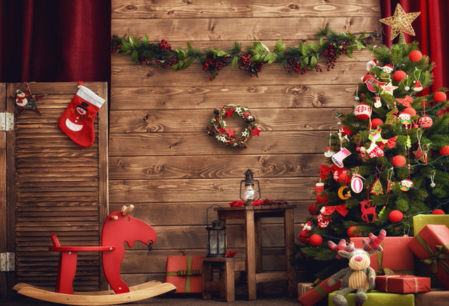 horizontal christmas photography backdrops photo