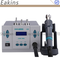 Quick 861DW lead free hot air gun soldering station Intelligent digital display 1000W rework station