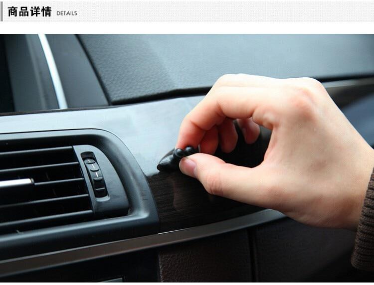 8Pcs / Lot Avtomobil Simli Kabel Tutma Klip Sabitləyici - Avtomobil daxili aksesuarları - Fotoqrafiya 5