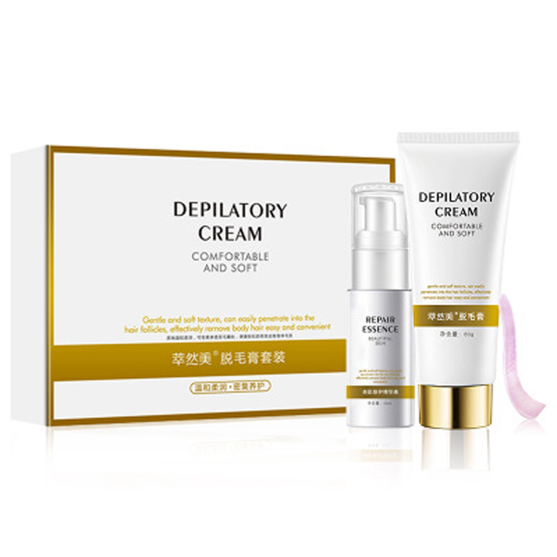 Natural Depilatory Cream Removal Men Women Face Genitals Axillary Smooth Remove Repair Combination
