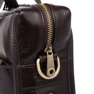 Image 4 - Bostanten 2019 New Fashion Genuine Leather Men Bag Famous Brand Shoulder Bag Messenger Bags Causal Handbag Laptop Briefcase Male