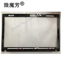 NEW Laptop LCD Front Bezel Cover for lenovo P580 P585 N580 N585 Black QIWY9 LCD Bezel 90201004 AP0QN000100 B shell