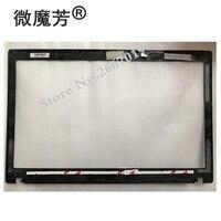 NEW Laptop LCD Front Bezel Cover For Lenovo P580 P585 N580 N585 Black QIWY9 LCD Bezel