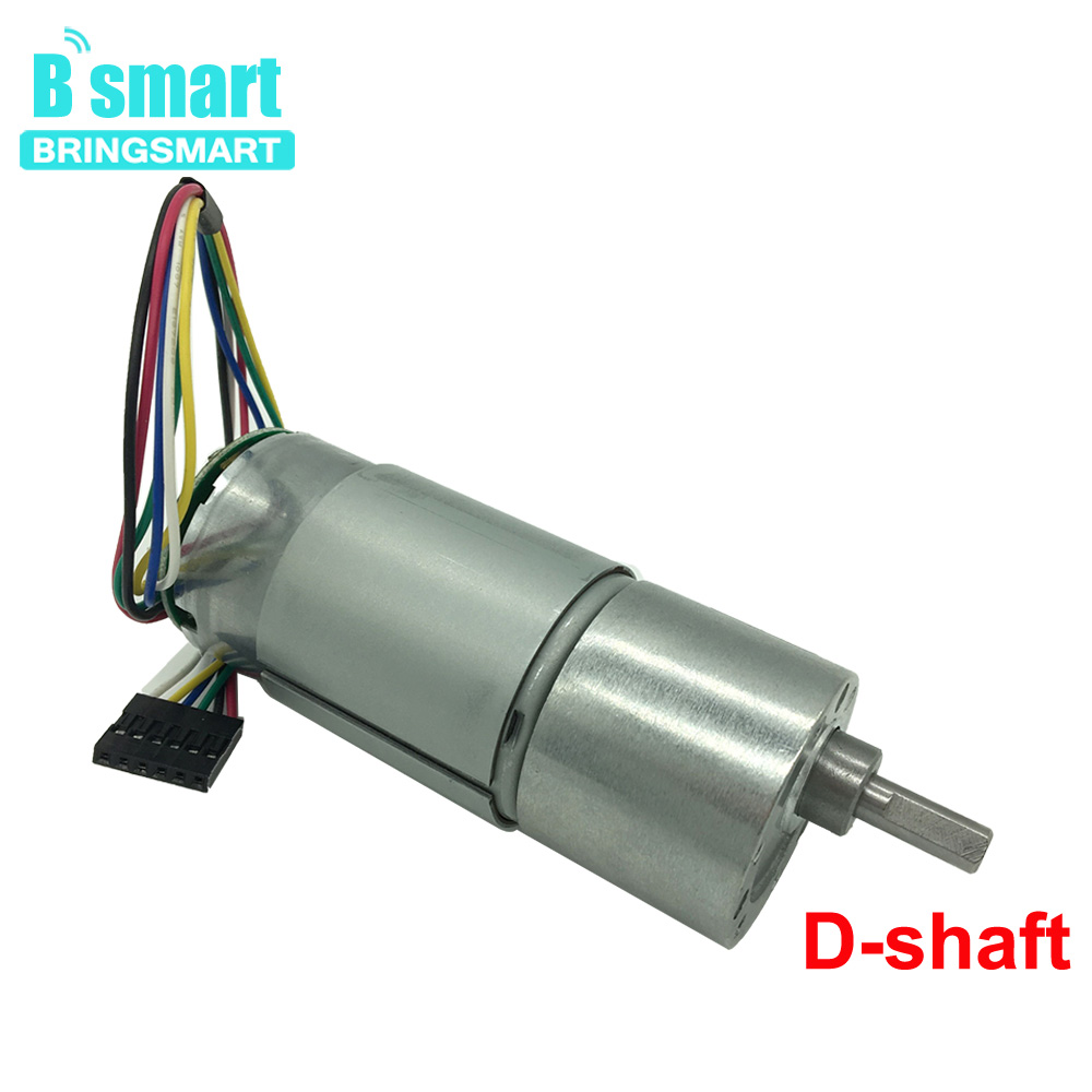 JGB37-540B 12 Volt Gear Motor DC 24V With Encoder Motor 7-960RPM CW CCW And Speed Control 16 Pulses DC Motor High Torque 2pcs dc3 7 4 2v 716 7 16mm micro diy helicopter coreless dc motor with propeller great torque high speed motor free shipping