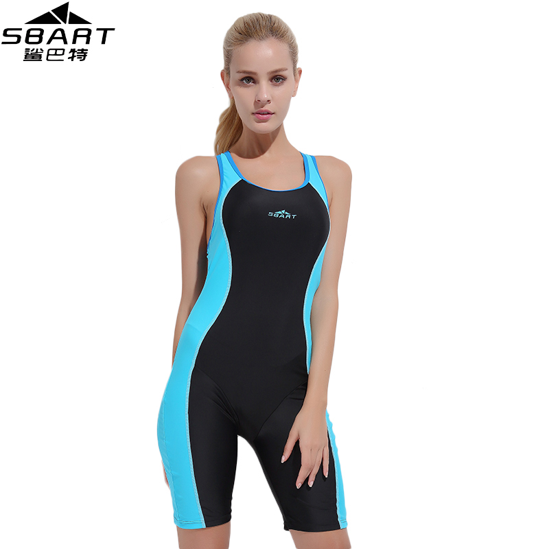 SBART Professional Women One Piece Swimsuit Racing Bathing Suit for Girls Swimming Competition Plus Size 3XL Padded Swimwear L sbart upf50 806 xuancai