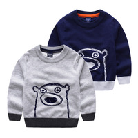 New 2016 Spring Bobo Choses Girl Boys Sweater Baby Girls Boy Sweater Kids Boutique Knitted Cartoon