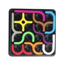 Logická hra pro děti – barevné součástky s plochou