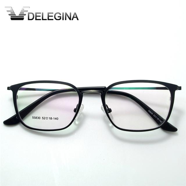 2016 de Alta Calidad de Metal marcos De Anteojos de Moda Hombre Mujer de Gafas Miopía Óptica