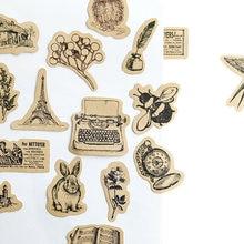 46 шт/коркор kawaii винтажные маленькие животные дневник ручной