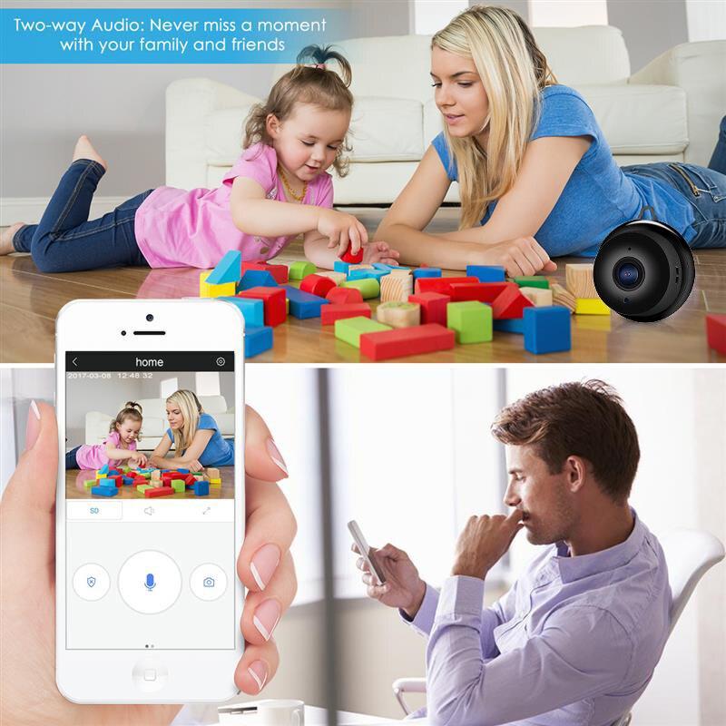 Wistino 960P Wireless IP Camera VR Mini WIFI Camera IR Night Vision Smart Home Security Camera Onvif Monitor Baby Monitor 2 (4)