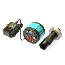 Buy 1080P HD 2.0MP VGA Industry Lab Digital Inspection AV Microscope Camera  + 120X C-MOUNT Zoom Lens