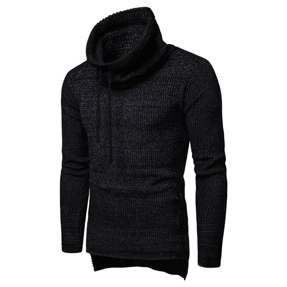 Chandail Hommes dark Élégant Streetwear Red Blue Mode Tricoter Creative Spéciale À Punk Vêtements Sweatercoat Offre Parti Frais Hiver Rock Mâle black Epq5gwAH