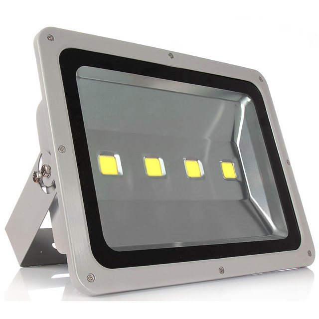 led flood light 200w white shell ac85 265v waterproof ip65