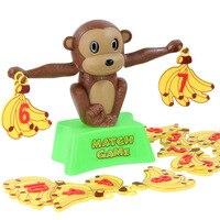 Gags Practical Jokes Children's Digital Monkey Game Monkey Match Banana Puzzle Desktop Game Novelty Gag Toys