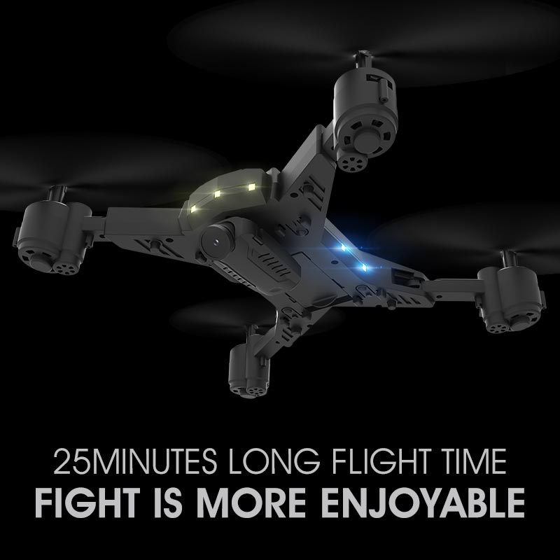 Image 3 - Folding four axle aircraft long lived high definition drone long time real time aerial remote control aircraft-in RC Helicopters from Toys & Hobbies