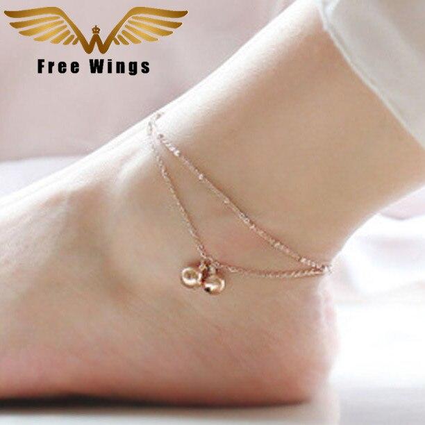 Bohemian Bell Anklet Ankle Bracelet Feet Leg Chain Barefoot Sandals Anklets For Women Beach Foot Jewelry 1D6