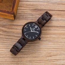 Fashion Women WristWatch Bracelet Quartz watches Ladies Natural Wooden Watch for Girls very light weigh and Simple wood watches