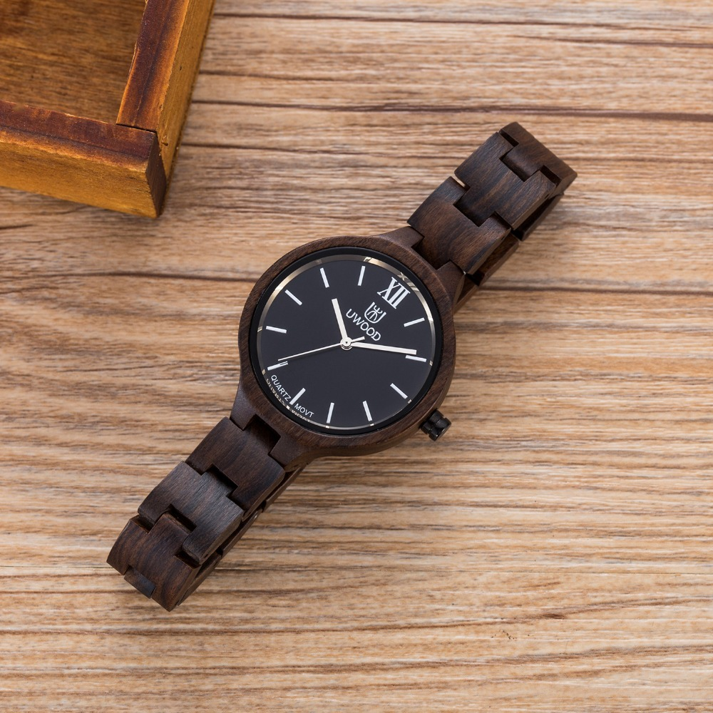 Fashion Women WristWatch Bracelet Quartz watches Ladies Natural Wooden Watch for Girls very light weigh and Simple wood watches hand made natural wood mens quartz watch wooden watchband bracelet clasp simple design dial high quality male watches gift