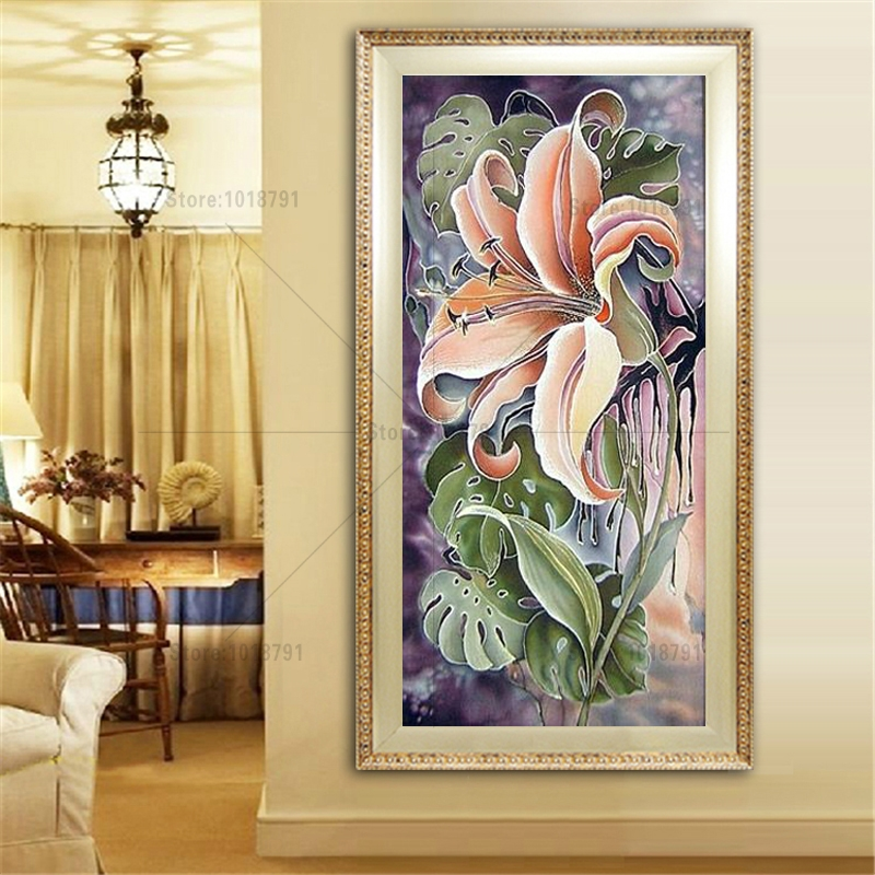 Diamond Painting beautiful Flower Diy Diamond Embroidery A Large Picture For The Bedroom 3 Size A Craft And A Gift For Familys