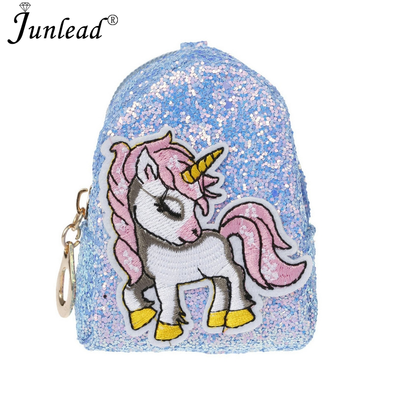 Junlead 2018 Sparkly Sequins Female Pink Horse Coin Purse Pocket Change  Wallet For Girl Key Chains Cute Fashion Card Coin Purse-in Key Chains from  Jewelry ... 7894842f68d6