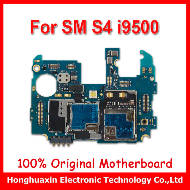 US $18 0 |100% working Europe version original Motherboard for Samsung  Galaxy S4 i9500 unlocked mainboard circuit board-in Mobile Phone Flex  Cables