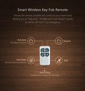 Image 5 - מקורי Broadlink S1C/ S1/ S2 מפתח Fob מרחוק שליטה להפעיל בחר חיישני עבור S1 S1C SmartONE בית מעורר SOS אבטחת מכשיר