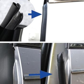 Rubber door seal noise insulation car door seal B pillar auto seals 2X80cm car door weatherstrip car stype accessories for car