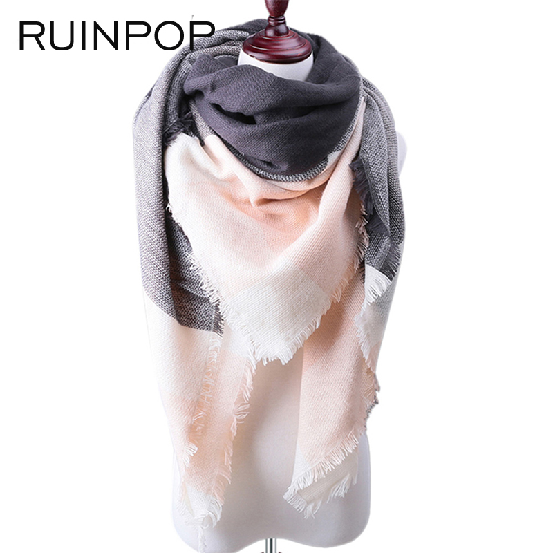 RUINPOP Fashion Women Winter Scarf Luxurs