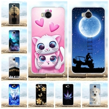 For Huawei Y5 2017 Case Silicon Cover for Y6 Phone Cases III / Honor 6 Play funda bumper Coque