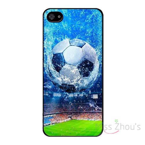For iphone 4/4s 5/5s 5c SE 6/6s plus ipod touch 4/5/6 back skins mobile cellphone cases cover Star Soccer football