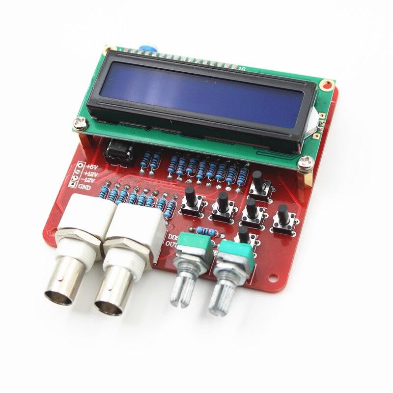 Générateur de fréquence de bricolage, kit de générateur de signaux de fonction DDS carré de dents de scie forme de Triangle pièces de bricolage composants de Source de Signal