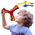 Marca Nuevos Niños Niños Niñas Deporte Al Aire Libre Juguete de Aire Copterang Boomerang Helicóptero Volar Los Juguetes Para Los Niños Regalo de La Familia de Interior juguete