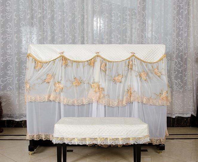 1 SATZ Spitzengarn Piano Suite European Styles Klavierbezug mit - Haushaltswaren - Foto 6