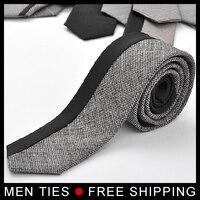 جديد وصول رجال التعادل جودة عالية الأزياء الصوفية الصوف الرقبة التعادل 1 قطعة التجزئة والجملة 27 لون المتاحة مجانا