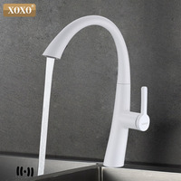 XOXO Kitchen Faucet Mixer Tap Spray Pull Down Sink Faucet Kitchen High End Brand Design 83037W