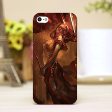 pz0017 12 Europe and America CG paint Design cellphone transparent cover cases for iphone 4 5