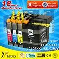 Tatrix 4PK для Brother LC105 LC109 LC105XXL LC109XXL Совместимый картридж для Brother MFC-J6520DW/MFC-J6720DW/MFC-J6920DW