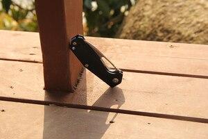 Image 5 - Kizer mini folding knife Fashion outdoor knife N690 stainless steel easy survival EDC pocket knife V4461N1 Kesmec