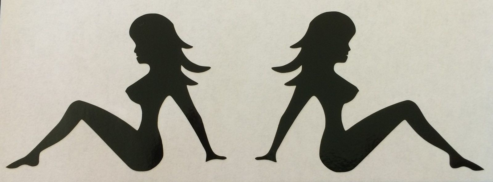 Mud Flap Girl Decal Your Choice Single Girl Car Truck Decal Sticker Graphic