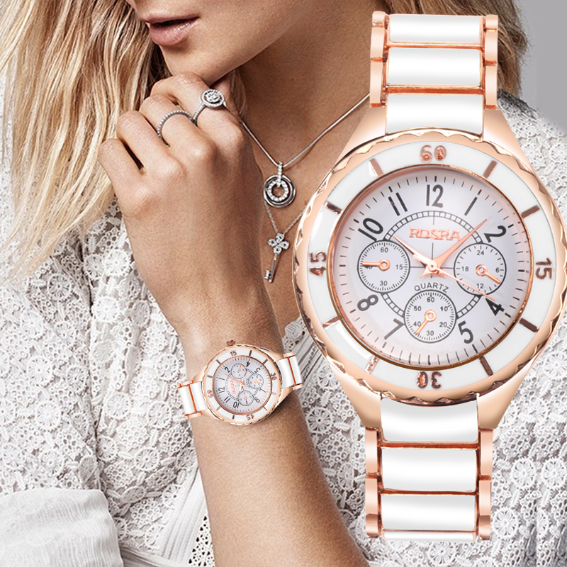 Women Watches Rose Gold Watch Full Steel Women's Watches For Women Clock Ladies Wrist Watch 2019 Bayan Kol Saati Reloj Mujer