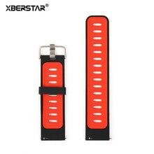 Замена силиконовый браслет ремешок ремешок для xiaomi huami amazfit спорт smart watch